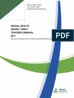TeacherManual Sexual Health