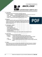 Pembahasan Ps 3 BIOLOGI Superintensif SBMPTN 2015
