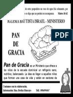 Imagen Pan de Gracia