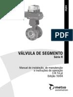 Manual Válvulas de Segmento