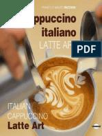 Italian Cappuccino Latte Art Presentation