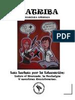 Colectivo Distriva-Las Luchas Por La Educacion.Entre el mercado, la Nostalgia y la Resistencia