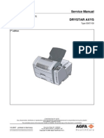 Drystar AXYS - Service Manual