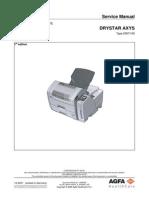 Drystar AXYS - Service Manual