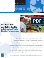Farm Bill and Public Health