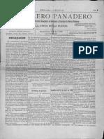 El Obrero Panadero Mayo de 1896
