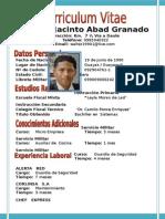 Walter Jacinto Abad Granado