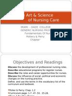 History Nursing Education