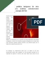 La NASA Publica Imágenes de Otra Enorme Nave Nodriza Extraterrestre Drenando La Energía Del Sol