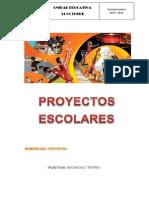 Proyecto Escolar (Teatro) Edwin Lopez