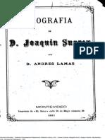 Andres Lamas - Biografia de Joaquin Suarez