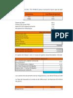 Cash Flow Metal Dore R.a.actualizado