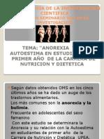 Anorexia y La Autoestima