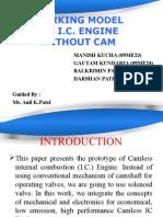 Camless Ic Engine