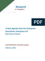 A New Agenda Item for Enterprise Executives