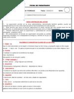 Ficha de Paráfrasis TAREA 1