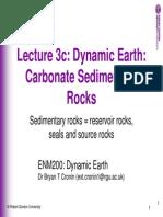 Slides 3c Carbonate Rocks 2010