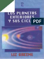 Los Planetas Exteriores y Sus Ciclos- Liz Greene [Campus Astrología]