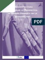 Lineamientos Para Incorporar La Perspectiva de Genero Feminista en La Investigacion[1]