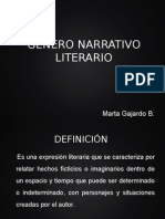 PowerPoint Género Narrativo Fu