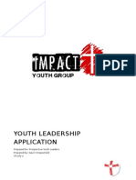 youth leadership application