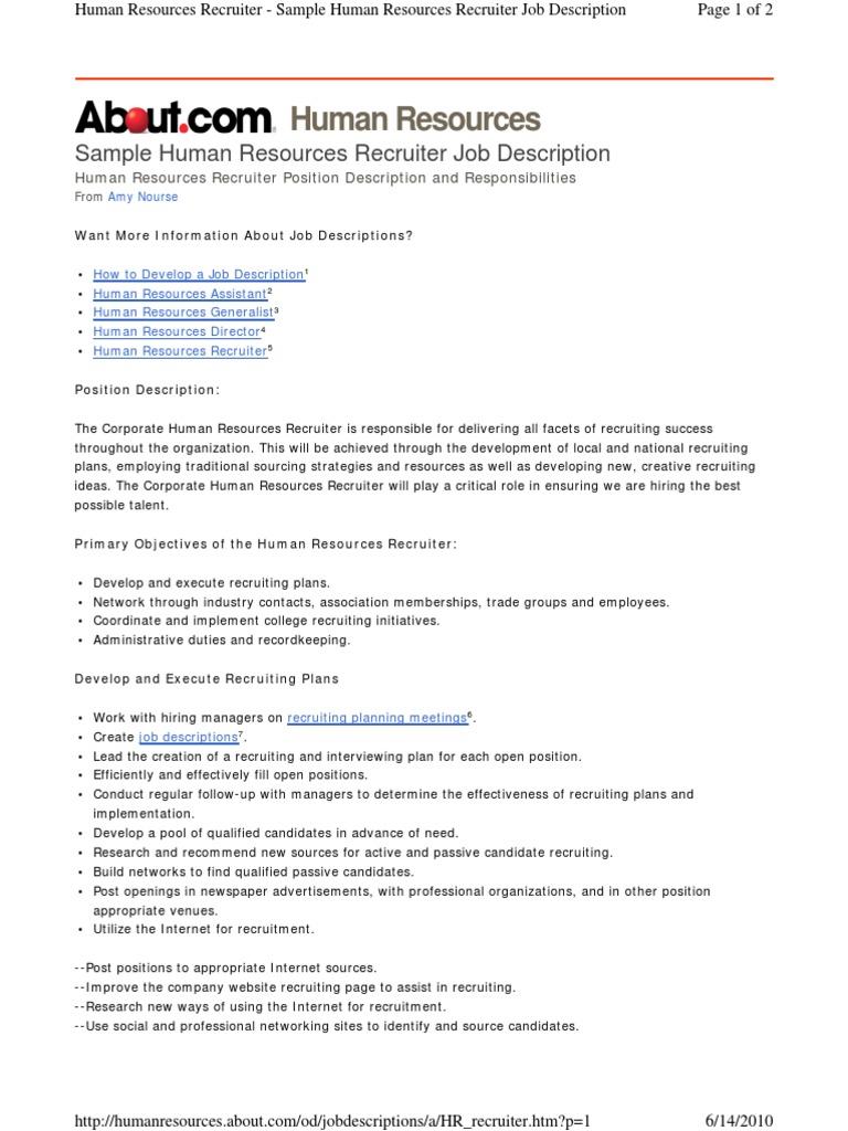 HR Recruit | Recruitment | Human Resources