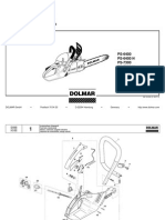 DOLMAR Parts Manual for Chainsaw Models