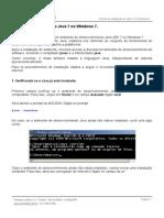Instalação Do Java Windows 7
