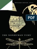 (21st Century Studies) Richard Grusin-The Nonhuman Turn-Univ of Minnesota Press (2015)