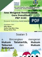 PKP 3183 ASAS MENGENAL NOMBOR UTK GURU PEMULIHAN