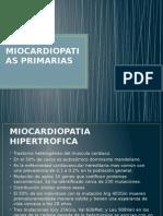 MIOCARDIOPATIAS PRIMARIAS