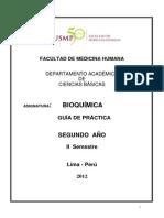Guía de Práctica de Bioquímica 2012