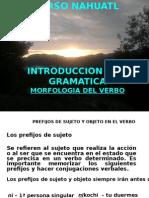 Morfologia Nahuatl