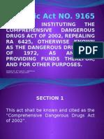 Republic Act NO 9165