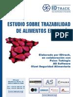 Estudio Sobre Trazabilidad en España