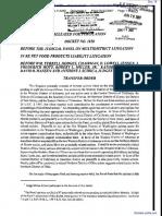 Widen et al v. Menu Foods et al - Document No. 16
