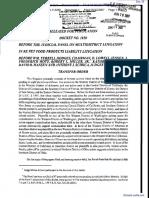 Sims et al v. Menu Foods Income Fund et al - Document No. 25
