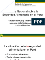 SEGURIDAD ALIMENTARIA EN EL PERU.ppt