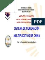 Sistema en La Numeracion de China