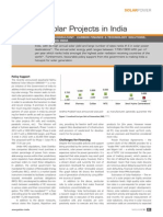 Note on Solar Power India