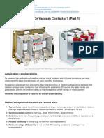 Electrical-Engineering-portal.com-MV Circuit Breaker or Vacuum Contactor Part 1