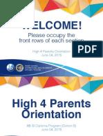 H4 IBDP Parents Orientation (SY2015-2016)