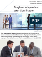 DOL Gets Tough on Independent Contractor Classification