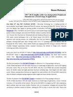 Microchip PIC16F1579-PI C16F18877 Press Release_final