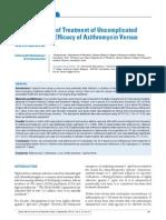 Jurnal Antibiotik Ceftri vs Azitro Untuk Tifoid