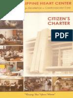 PHC Citizen Charter Book