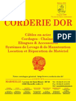 Catalogue CORDERIE DOR 2011 Documentations[1]