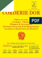 Catalogue CORDERIE DOR 2011 Documentations[1]