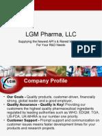 LGM Pharma, LLC