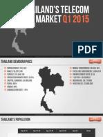 Thailand's Telecom Market Information Q1 2015